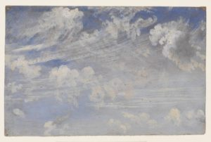 Constable Clouds- Study of Cirrus Clouds 1824